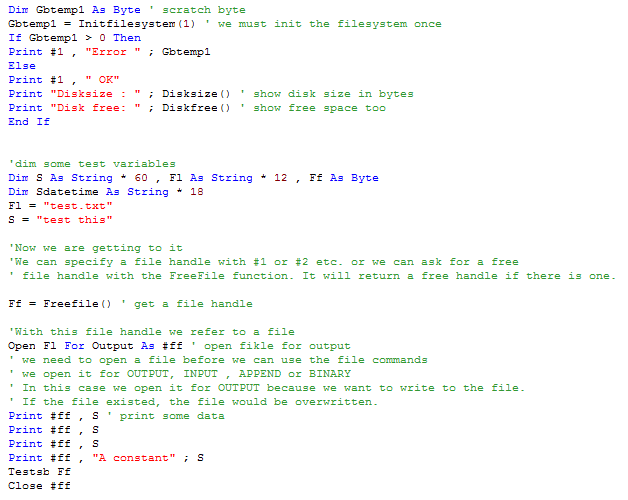 Bipom Electronics Bascom Avrdos Sample Code