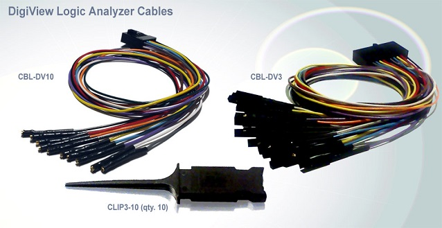 DigiView Logic Analyzer Cables