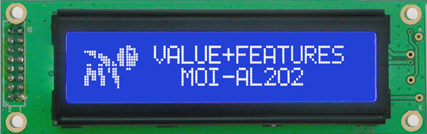 Enlarged image for MOI-AL202C-BW3SJ Display Module