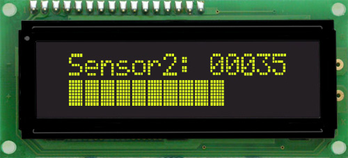 Enlarged image for MOS-AL162A-XY3SE Display Module
