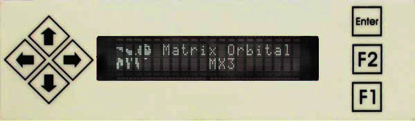 Enlarged image for MX301 Display Module
