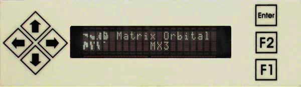 Enlarged image for MX303 Display Module
