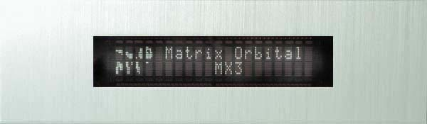 Enlarged image for MX321 Display Module