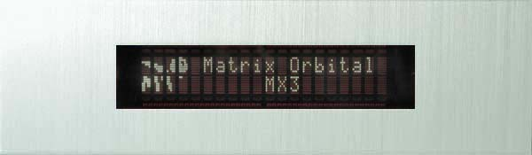 Enlarged image for MX323 Display Module