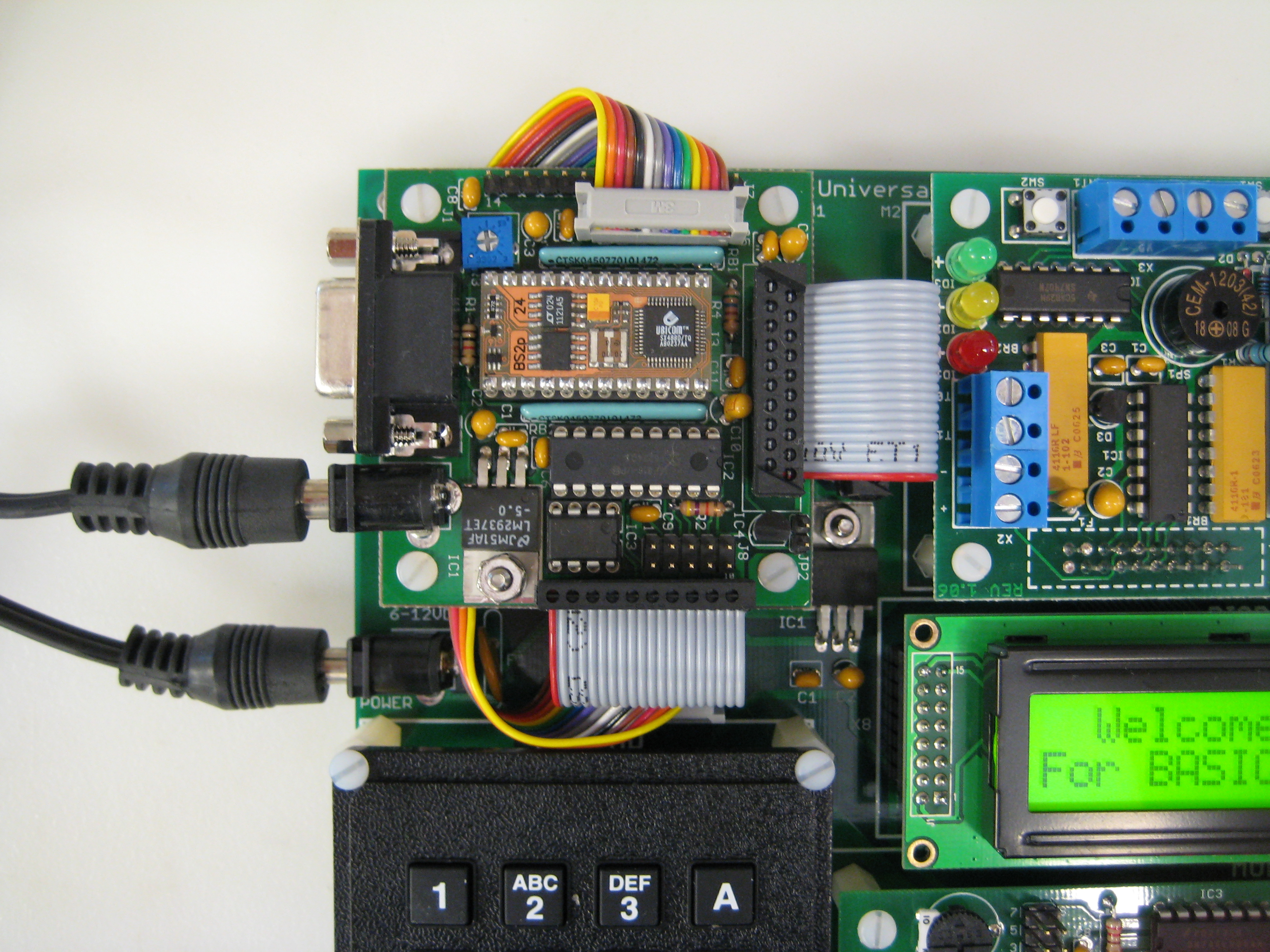 Microcontroller Section