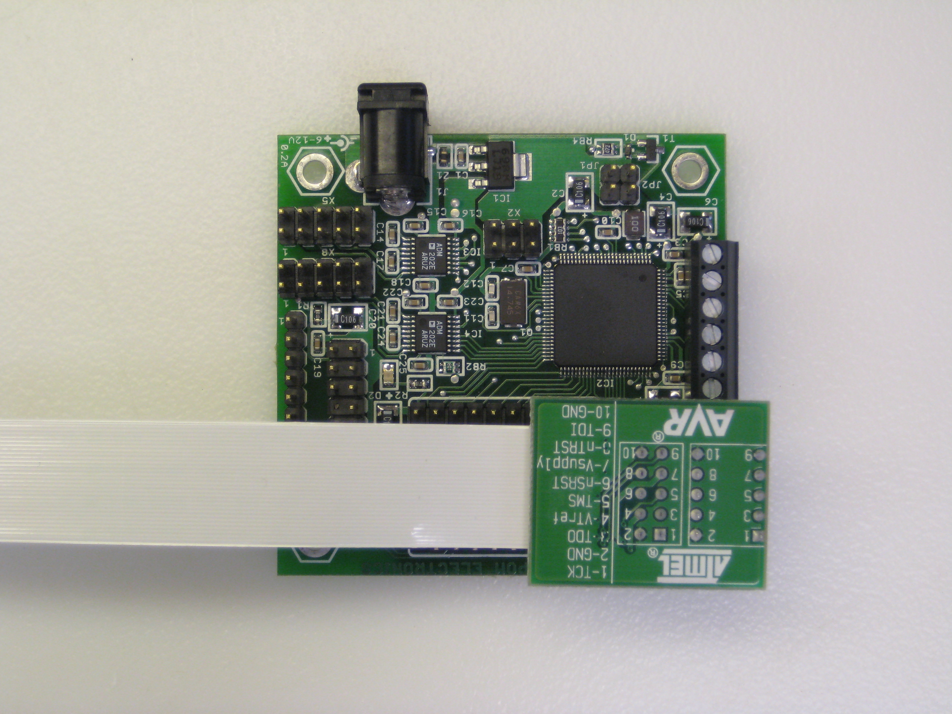 MINI-MAX/AVR-C With ATJTAGICE2 Header for JTAG debugging