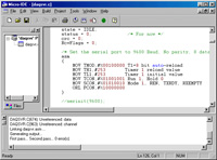 Micro C 8051 Development System - C Compiler, Assembler, Linker, Windows IDE for the 8051/8052