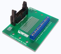 BRK2X7 - 2x7 0.1' Header Breakout Board, Long Ejectors, Feet