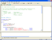 Micro C 8086 Development System - C Compiler, Assembler, Linker, Windows IDE for the 8086