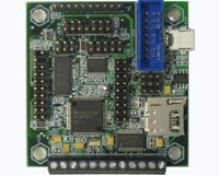 MINI-MAX/MSP430-C - Ultra Low Power Microcontroller board with TI MSP430, 256K Flash, 16K RAM, RS232, 12-bit ADC