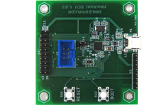 MINI-MAX/AVR-AU - Based on the ATMEL AT90USB82-16MU 8-bit micro-controller with integrated USB controller