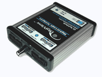 DV3400 - DIGIVIEW LOGIC ANALYZER with two sample modes: 200 Msps, 36 Channels or 400 Msps, 18 Channels.