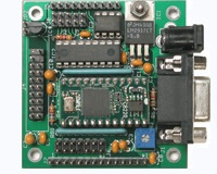 BSCB-2 - BASIC Stamp Carrier Board with Analog and Keypad Inputs