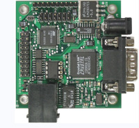 MINI-MAX/51-E - Microcontroller board with ATMEL AT89C51RD2, 64K Flash, 2K RAM, 32 I/O, RS232, Ethernet