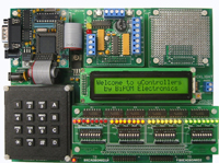 MicroTRAK/P18 Complete - PIC18 Training/Project Kit with MINI-MAX/P18