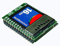 M128LM - 128L is a microcontroller with low power consumption and small size based on an Atmel ATmega128L