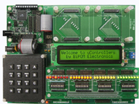 MicroTRAK/AVR-C Starter - AVR Training/Project Kit with MINI-MAX/AVR-C, without any peripheral boards
