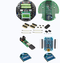 3pi Wireless Robot Set II - Includes Pololu 3pi Robot and everything else needed to control the robot through ZigBee wireless