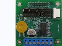 MOTOR-1B - A universal stepper motor controller board for BiPOM MINI-MAX series microcontroller boards and othe