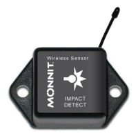 Wireless Accelerometer - G-Force Impact - Commercial Grade, CR-2032 Battery Powered Wireless Accelerometer - G-Force Impact,900MHz
