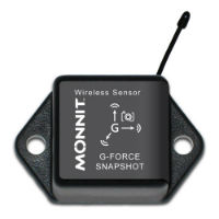 Wireless Accelerometer - G-Force Snapshot - Commercial Grade, CR-2032 Battery Powered Wireless Accelerometer - G-Force Snapshot,900MHz