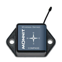 Wireless Compass Sensor - Commercial Grade, CR-2032 Battery Powered Wireless Compass Sensor,900MHz