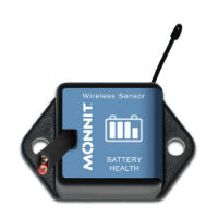 Wireless Voltage Meter - 50 VDC - Commercial Grade, CR-2032 Battery Powered Wireless Voltage Meter - 50 VDC,900MHz