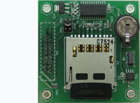 MMC-RTC-1 - Multimedia Card interface board with clock/calendar - battery backup