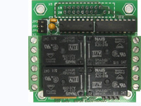 RELAY-4 - Relay peripheral board with 4 power relays