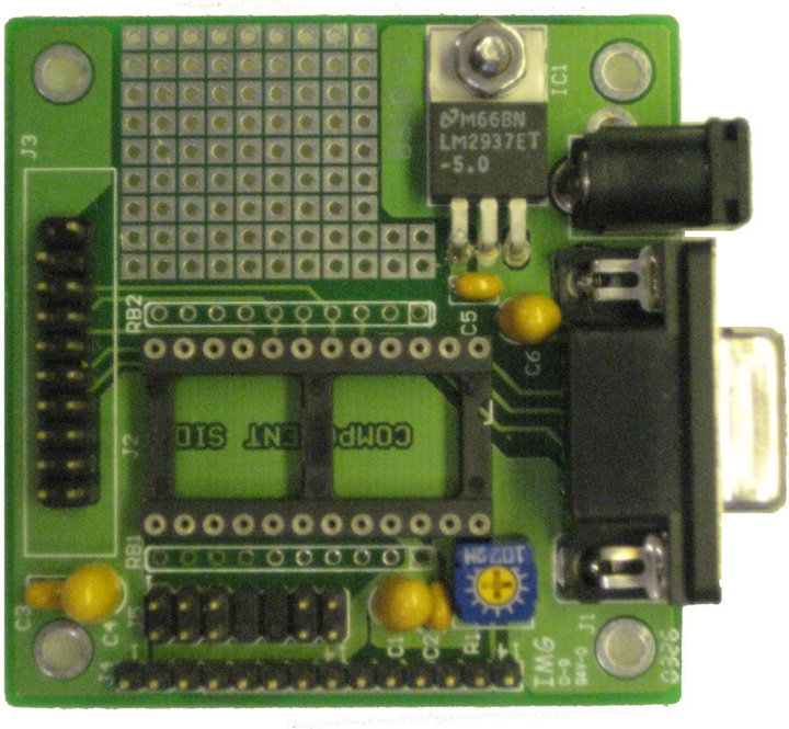 BSCB-1 - BASIC Stamp Carrier Board