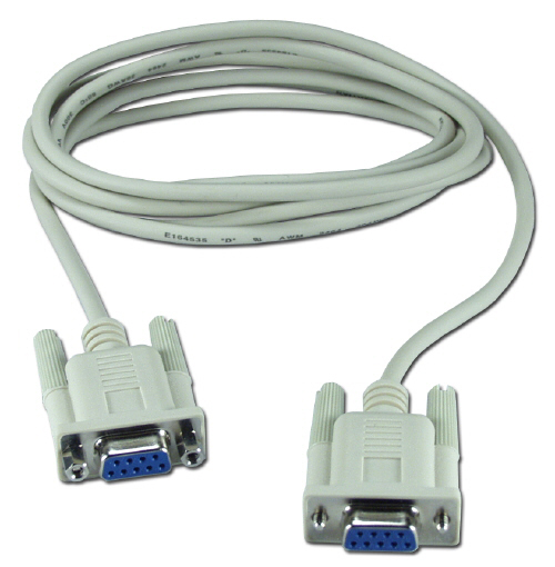 CBL-NM1-9F9F-6 - 6 feet NULL modem cable