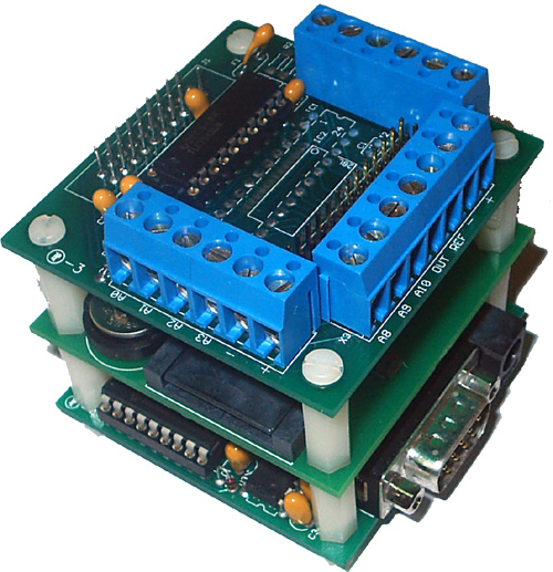 Data-Logger/51-C2 Kit - Data Logger with MINI-MAX/51-C2, DAQ-2543 board, MMC-RTC-1 board, 128MB MMC
