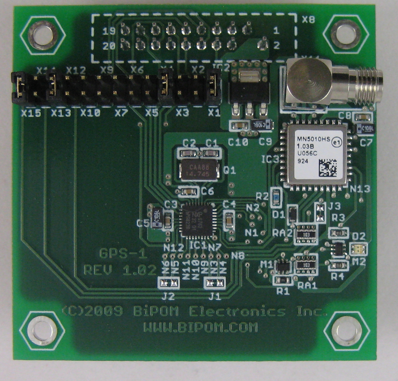 GPS-1 - Global Positioning System (GPS) Peripheral Board