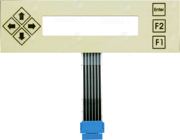 Enlarged image for KPP202A Display Module