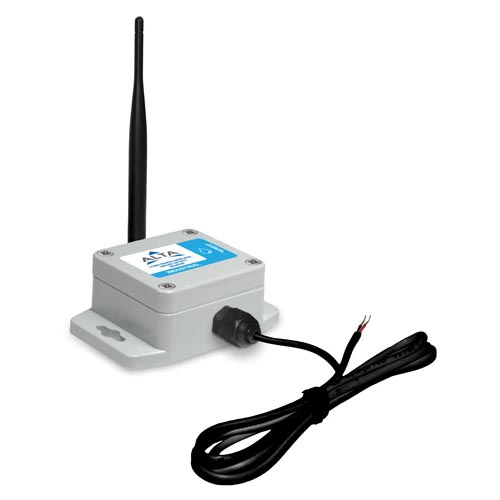 ALTA Industrial Wireless Water Detection Sensor - ALTA INDUSTRIAL WIRELESS WATER DETECTION SENSOR,900 MHz,3 foot wire