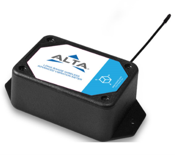 ALTA Wireless Accelerometer - Advanced Vibration Meter (AA) - ALTA WIRELESS ACCELEROMETER - ADVANCED VIBRATION METER, 900 MHz, AA BATTERY POWERED